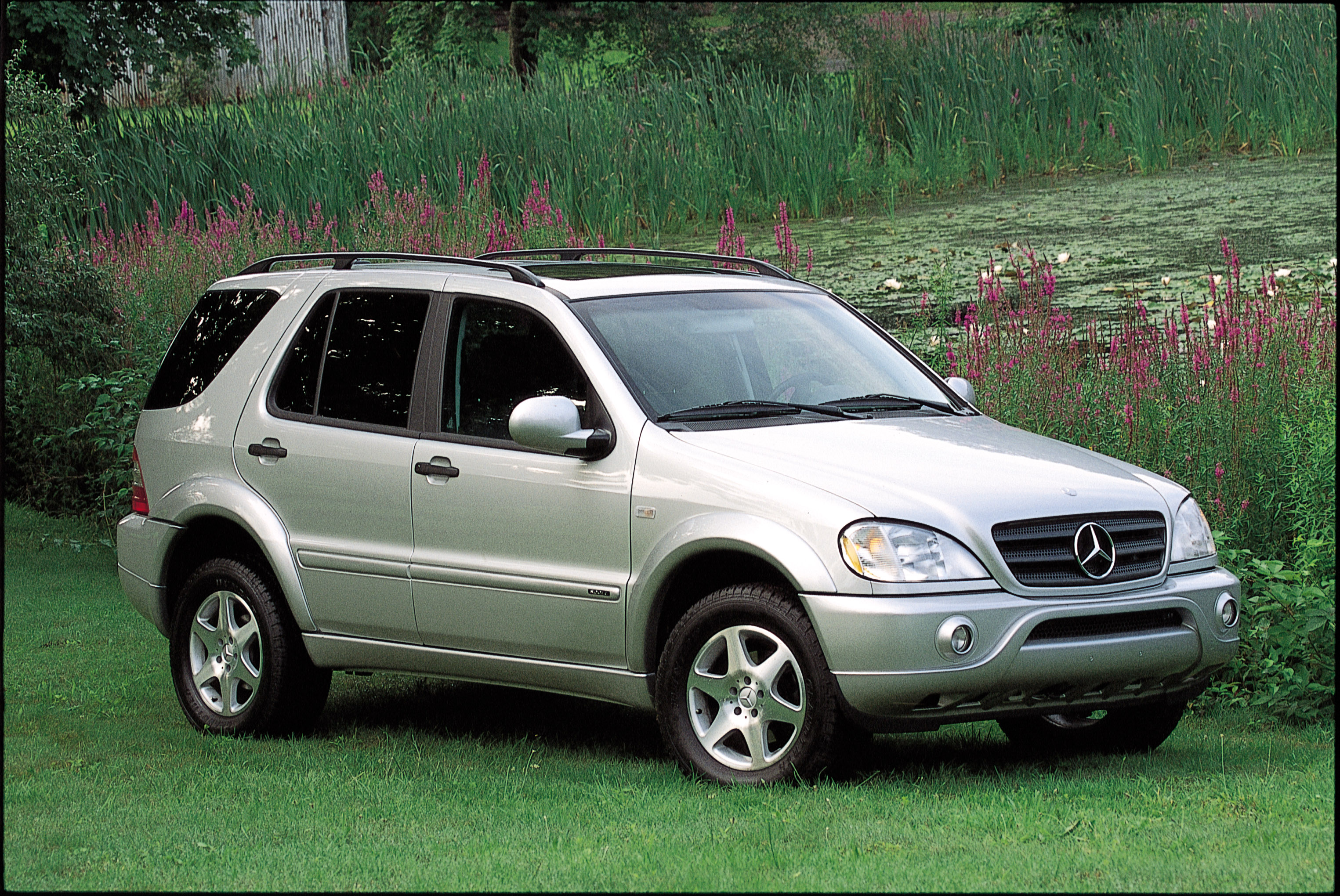 2001 mercedes ml430 fuel infection for Mercedes benz suv 2001