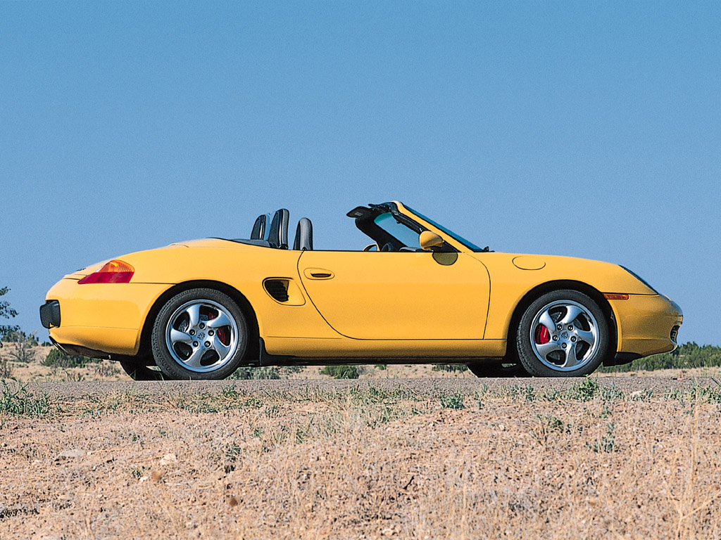 Case in point the 2001 porsche boxster