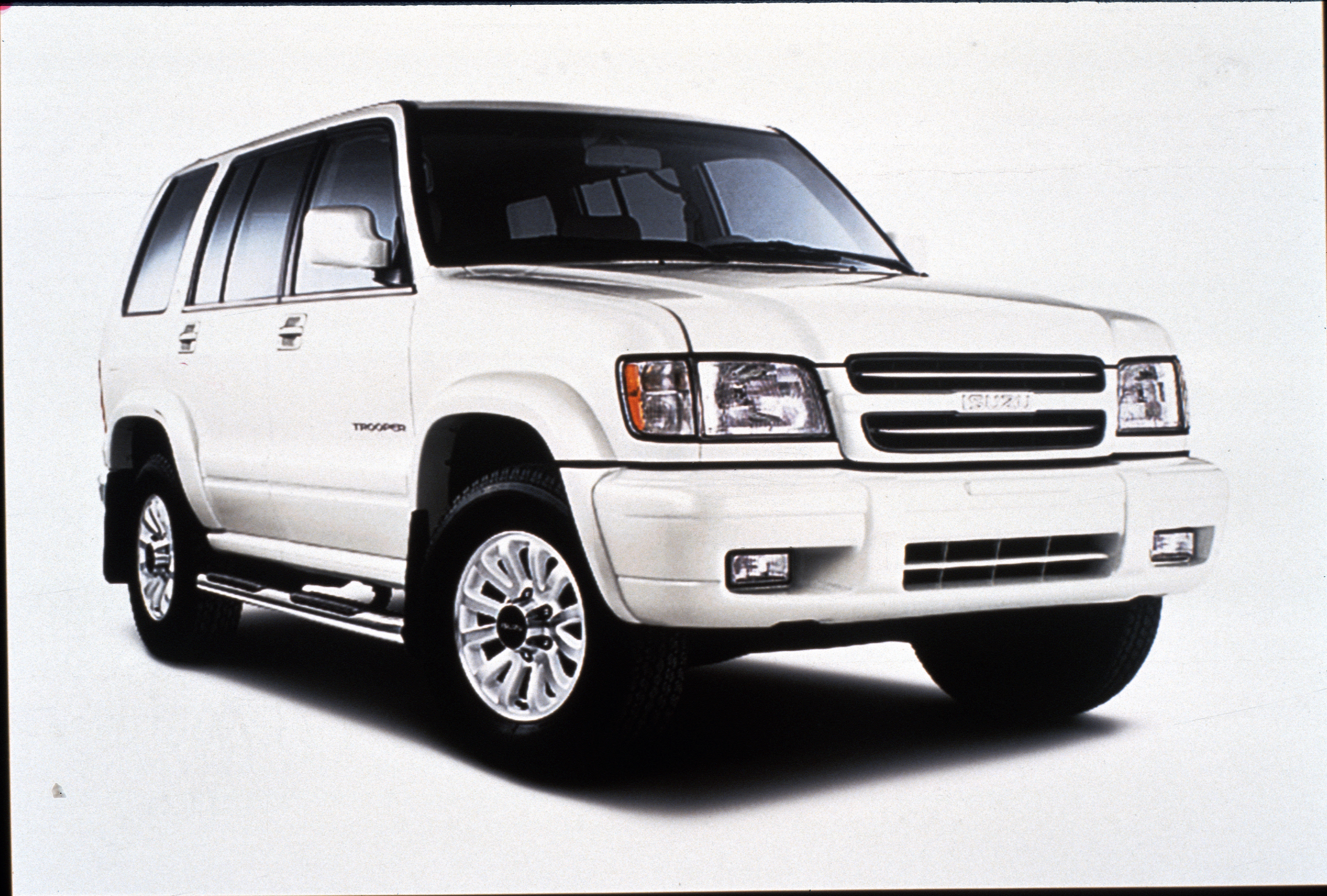 The 2001 isuzu