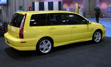 The New Wagon Shares The Lanceru0027s New For U002704 Sheetmetal And Suspension  Revisions, And Is Available In Standard Or Performance Enhanced Ralliart  Trim.