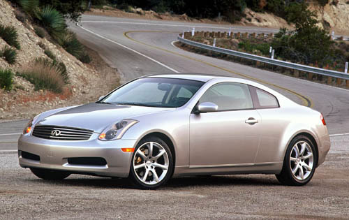 2003 Infiniti G35 Sport Coupe Fuel Infection